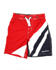 Swimwear - Color Blocked Swim Trunks (4-7)-2351352