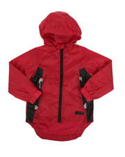 Boys - Color Block Rain Shell Full Zip Jacket (2T-4T)-2348761