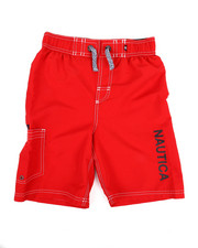 Boys - Swim Trunks W/ Marled Drawstrings (8-20)-2351357