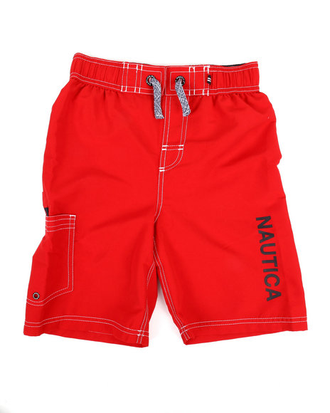 0cda750fe7 Buy Swim Trunks W/ Marled Drawstrings (8-20) Boys Swimwear from ...