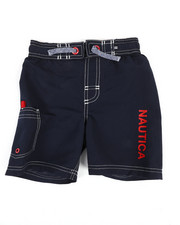 Boys - Swim Trunks W/ Marled Drawstring (4-7)-2351342