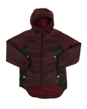 Outerwear - Color Block Rain Shell Full Zip Jacket (8-18)-2349296
