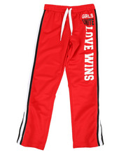 Track Pants - Tear Away Snap Pants w/ Contrast Side Panel (7-16)-2349569