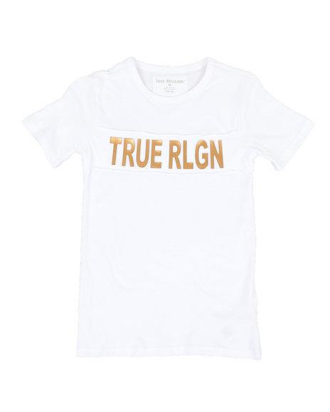 True Religion - TR Print Mesh Tee (4-7)