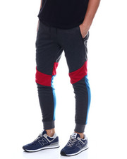 Buyers Picks - Interwoven Color Strip Jogger w Waterproof Zipper-2351649