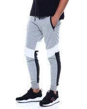 Buyers Picks - Interwoven Color Strip Jogger w Waterproof Zipper-2351736