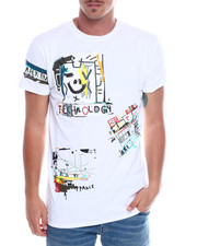 Buyers Picks - TECHNOLOGY SCRIBBLE TEE-2351088
