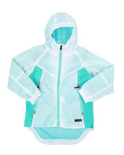 Boys - Color Block Rain Shell Full Zip Jacket (8-18)-2348802
