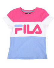 Fila - Heritage Color Blocked Tee (7-16)-2348987