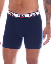 Boxers & Briefs - 3 Pack Solid Boxer Briefs-2350808