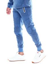 Men - Camo Print Reflective Zipper Jogger-2352014