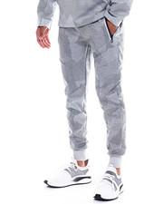 Men - Print Reflective Zipper Jogger-2352023