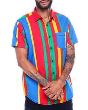 Button-downs - Stripe SS Woven Shirt-2351969