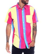 Button-downs - Stripe SS Woven Shirt-2351974