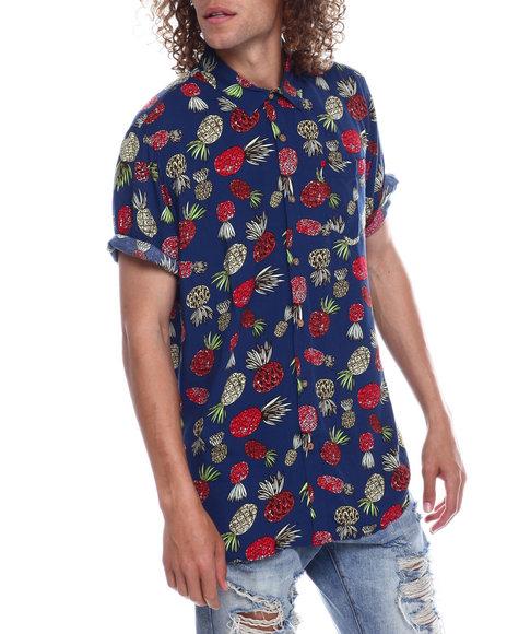 Union Bay - Bradley Nucleus Pineapple Rayon SS  Shirt