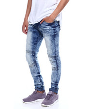 Jeans & Pants - CUT AND SEW STRETCH MOTO JEAN-2352750