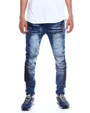 Jeans & Pants - CUT AND SEW STRETCH MOTO JEAN-2352783