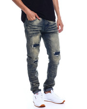 Jeans & Pants - BLOWNOUT AND REPAIRED STRETCH JEAN-2352861