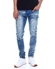 Jeans & Pants - Rip and Repair Blown out Stretch Jean-2352909