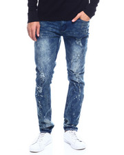 Jeans & Pants - RIP AND REPAIR STRETCH DK BLUE JEAN-2352872