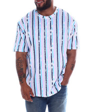 Big & Tall Faves - S/S Printed Jersey Crew Tee (B&T)-2353024