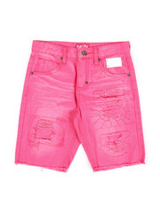 Boys - Overdye Denim Shorts (8-20)-2353475