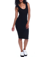 Dresses - Scoop Neck Tank Dress-2354016