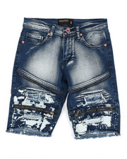 Boys - Denim Stretch Shorts (8-20)-2352348