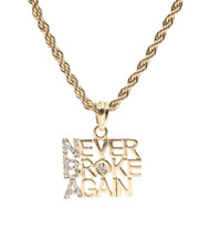 "Men - Never Broke Again 24"" Chain Necklace-2348563"