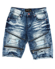 Boys - Denim Stretch Shorts (8-20)-2352298