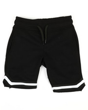 Boys - Tape Trim Knit Shorts (4-7)-2352954