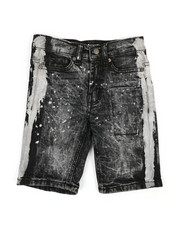 Boys - Painters Denim Shorts (4-7)-2353046