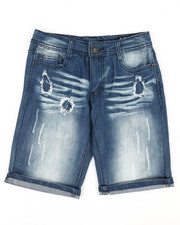 Buffalo - Rip & Repair Denim Shorts (8-20)-2351425
