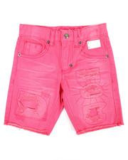 Born Fly - Overdye Denim Shorts (4-7)-2353465
