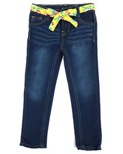 Girls - Denim Jeans w/ Sash Belt (4-6X-2353220