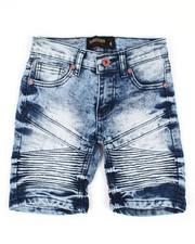 Boys - Denim Stretch Shorts (4-7)-2352304