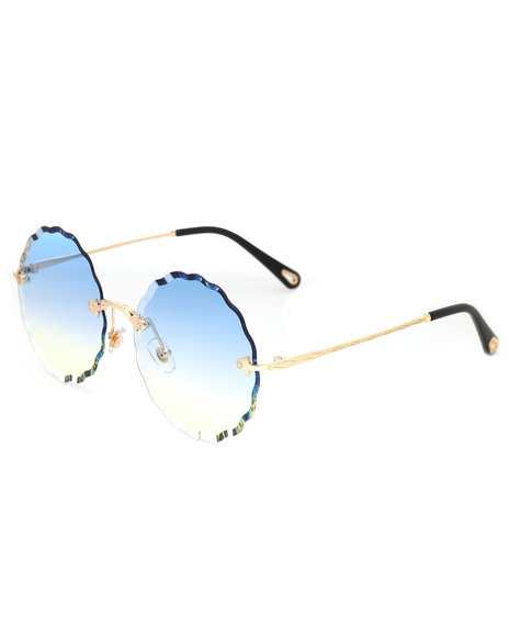 Fashion Lab - Round Gradient Sunglasses