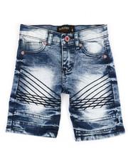 Boys - Denim Stretch Shorts (4-7)-2352309