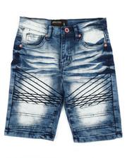 Boys - Denim Stretch Shorts (8-20)-2352292