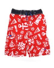 Swimwear - Printed Swim Trunks (8-20)-2352257