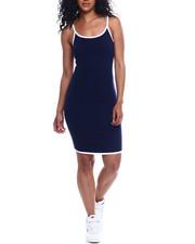 Women - Contrast Binding Spagh Strap Dress-2354191