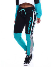 Athleisure for Women - Color Blocked Logo Joggers-2353460