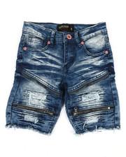 Boys - Denim Stretch Shorts (4-7)-2352287