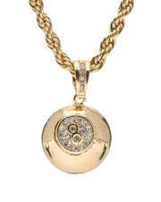 "Men - 8 Ball 20"" Chain Necklace-2348561"
