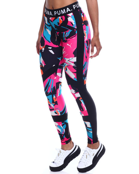 Puma - Chase All Over Print Top Crossover Legging