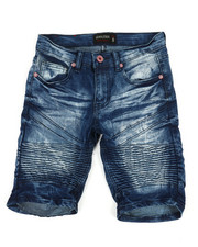 Boys - Denim Stretch Shorts (8-20)-2352326