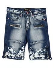 Boys - Denim Stretch Shorts (8-20)-2352354