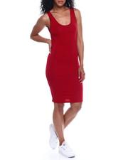 Fashion Lab - Scoop Neck Tank Dress-2354002