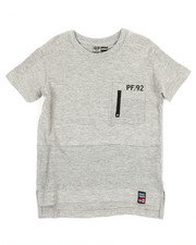 Phat Farm - Pintuck Zipper Front Pocket T-Shirt (4-7)-2353177