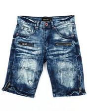Boys - Denim Stretch Shorts (8-20)-2352332